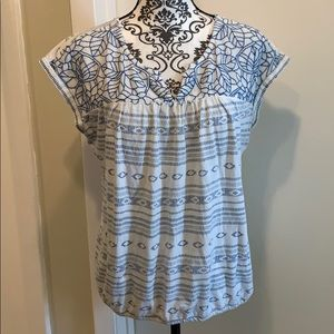 Lucky Brand Blouse Live In Love FINAL PRICE